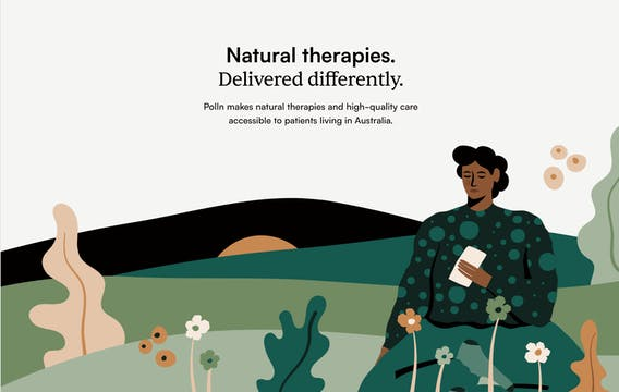 www.polln.com - Natural therapies. Delivered differently.